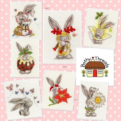 BOTHY THREADS  XBB7  BEBUNNI  RUDOLF  COUNTED CROSS STITCH KIT