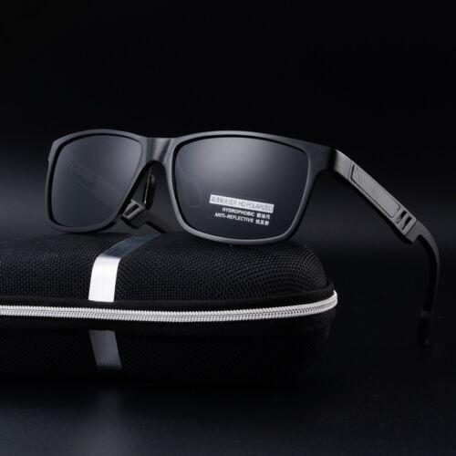 HD Men/'s Aluminum Polarized Driving Sunglasses Sports Mirrored Glasses Eyewear