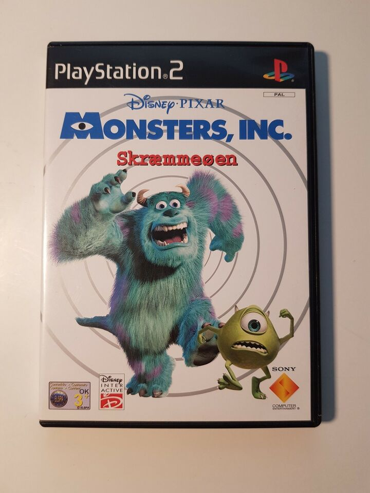 Monsters Inc., PS2