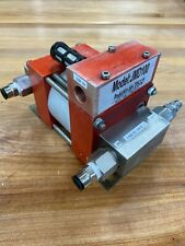 Air Driven Fluid Pump 7250 11600 Psi Output Compressed Air In 14 116 Psi