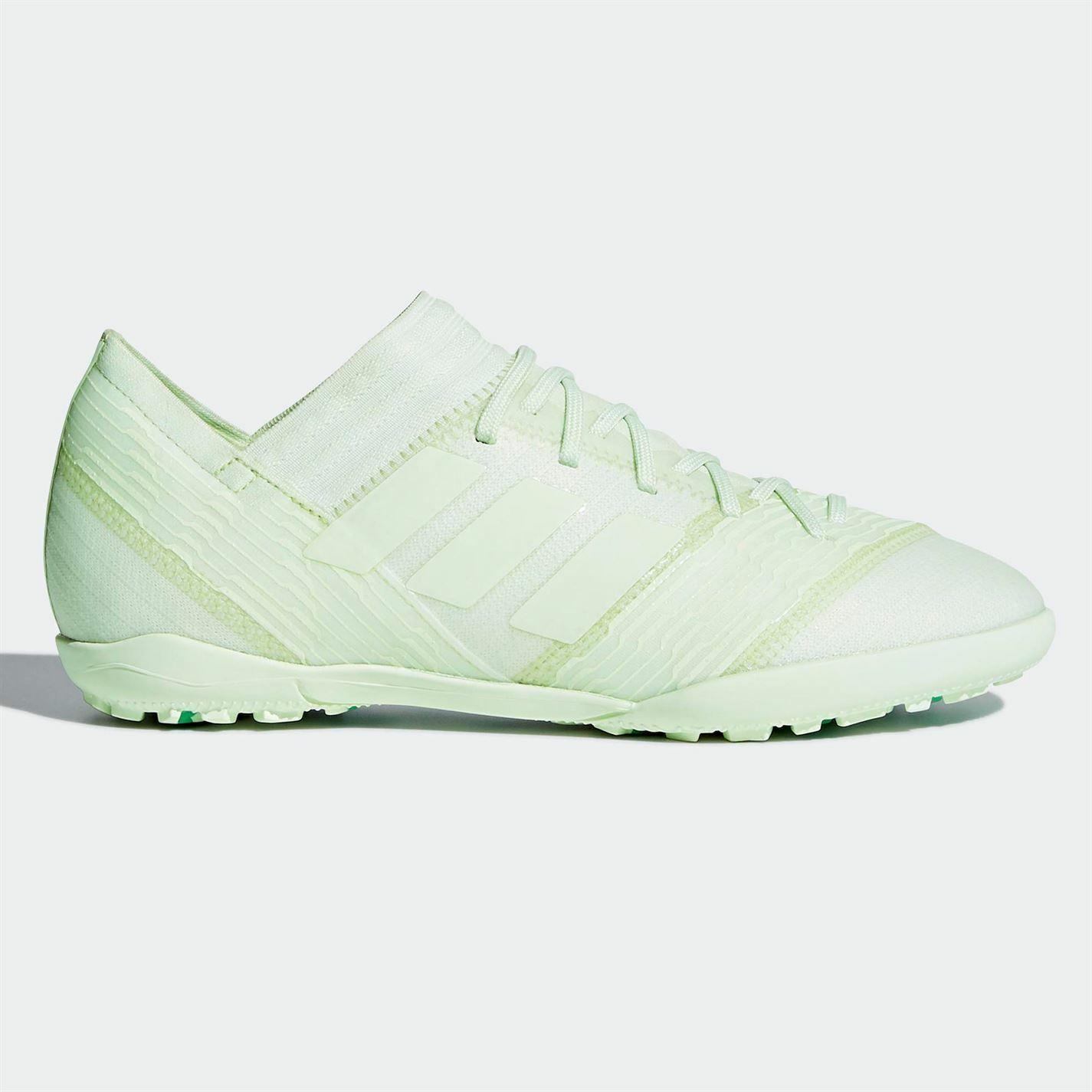 Adidas Nemeziz Tango 17.3 Astro Calcio Allenatori Bambini verde Scarpe Calcio