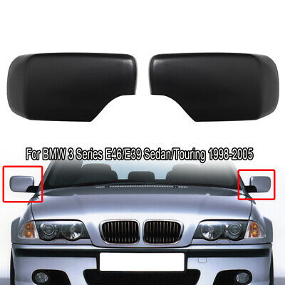 For BMW E39 E46 Left Driver Side primed Door Mirror Cover Cap