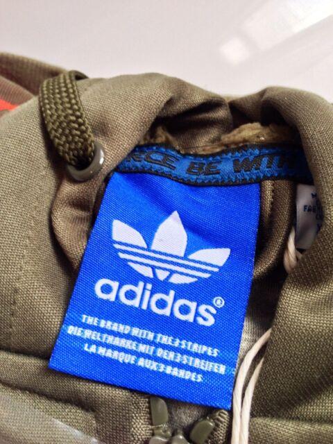 adidas Originals Star Wars X Wing Hoodie Military Jacket Mens Size Large L