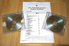 Star Wars Episode 2 Attack Of The Clones - APK / Audio Press Kit 2 CDs - RARE