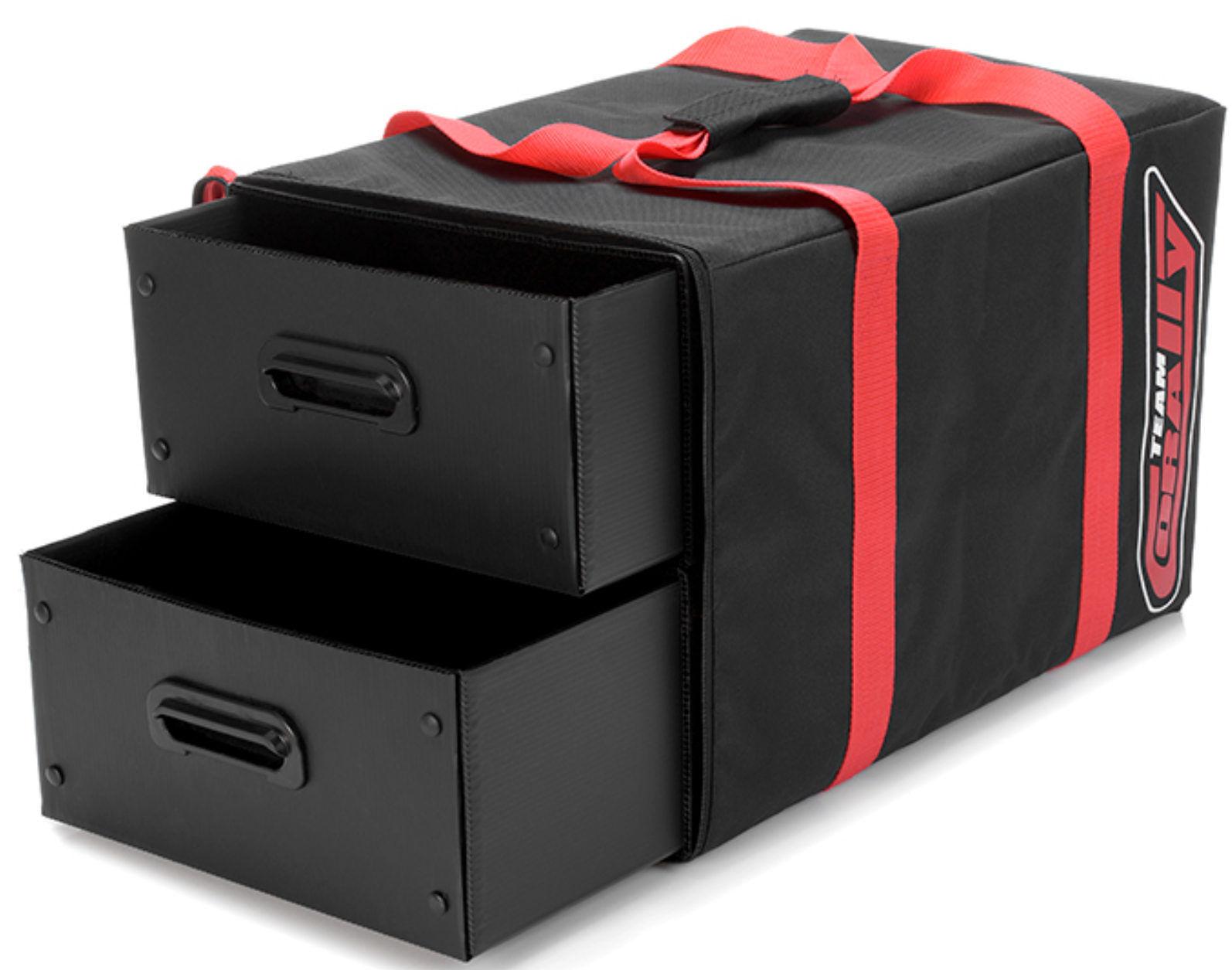 Squadra CORtuttiY Borsa per il trasporto 2  CASSETTI in plastica c-90240  basso prezzo del 40%