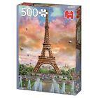 Jumbo Qualité Supérieure Puzzle 500 Pièces - Eiffel Towe, Paris, France 18533