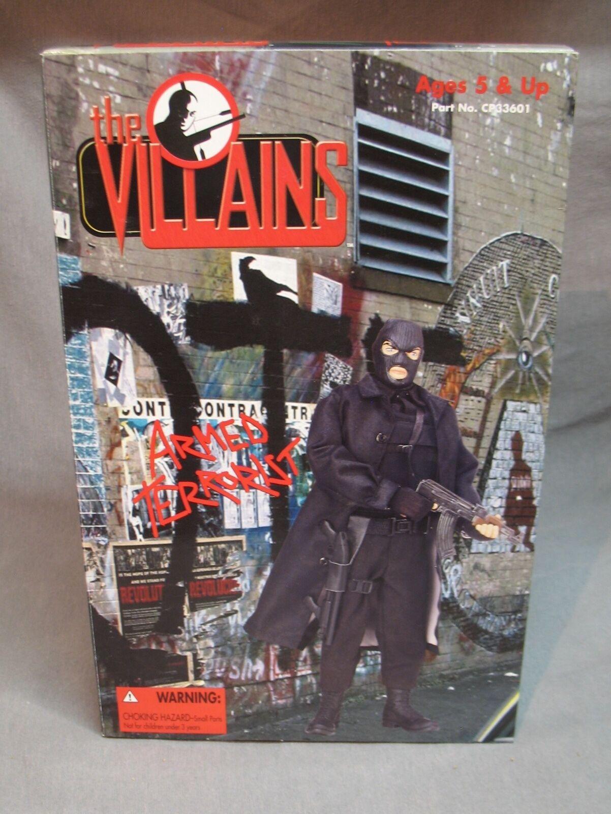 """21st Century Toys The Villains 12"""" Armed Terrorist Action Figure"""