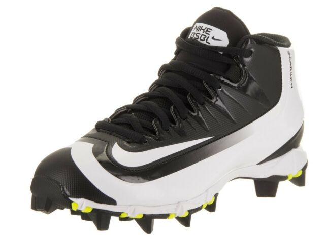 f665b042de2 Nike Boys Huarache 2KFilth Keystone Mid Baseball Cleats Black 807138 NIB  40