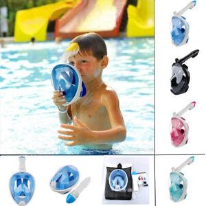 Watersports-Swimming-Full-Face-Snorkel-Diving-Mask-Design-For-Kids-Children