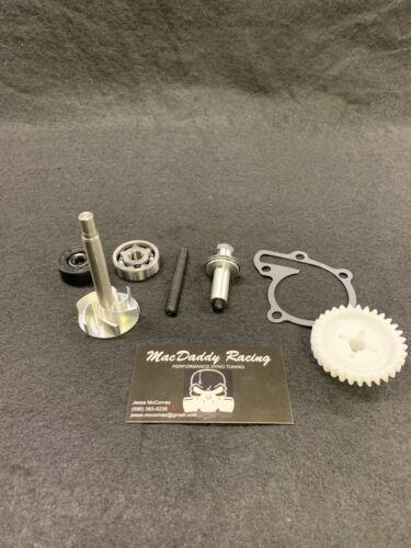 Banshee Pancake Bearing Billet Water Pump Rebuild Kit With Oem Gear