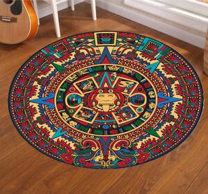 Circular Carpet Non Slip Large Sizes