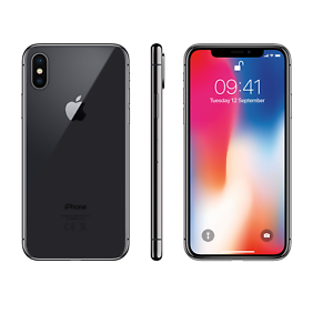 Apple-iPhone-X-64GB-Unlocked-4G-LTE-Smartphone-with-faulty-camera-039-s-amp-Face-ID