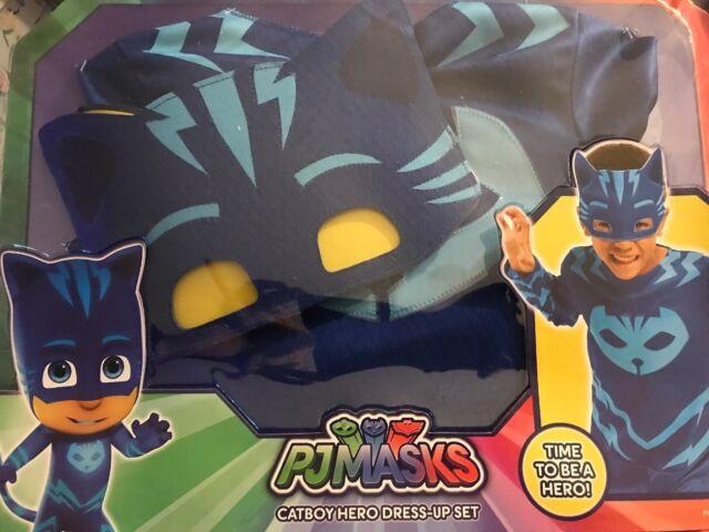 Catboy Classic Blue PJ Masks Pjmasks Superhero Boys Costume S