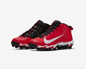 bf2090cc4647 Nike Force Trout 5 Pro Keystone Baseball MCS Cleats Size 8.5 Red ...