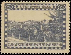 Reklamemarke-Eisenbahnbruecke-439928