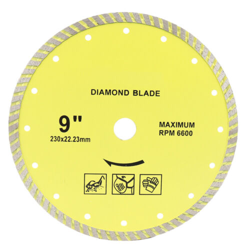 9 Inch Turbo ultramicrocut Diamond Cutting Disc Saw Blade for Marble Cutting 1Pc