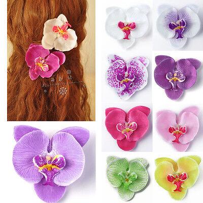 Fascinator Haarschmuck Kopfschmuck Braut Blume Haarblume Haarkamm Hochzeit Top