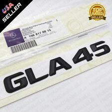 Gloss Black 15-16 OEM GLA 45 Emblem Trunk Logo Badge Decoration AMG Modified