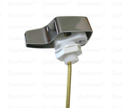 Side Mount Eljer Toilet Tank Flush Trip Lever Replacement Chrome Finish Handle