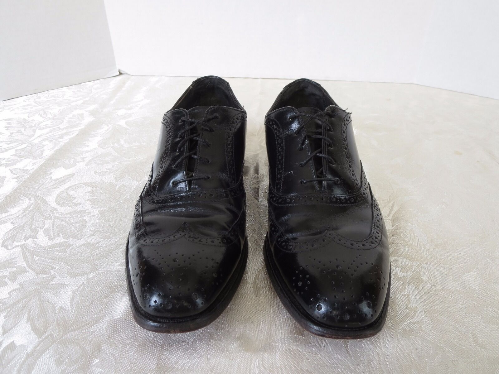 Bostonian Dress Classic Wingtip Leather Footsaver Dress Bostonian Oxford Shoes Men Size 7.5 00d40e