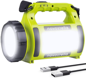 Novostella Rechargeable Cree Led Torch Multifunctional Camping Light Waterproof