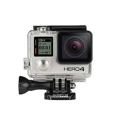 GoPro HERO4 Silver Actionkamera Full HD WiFi 1080p Cam Kamera