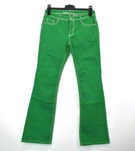 Revolt tasche Apple Green Jeans di 11 solo Spandex cambia cut boot Women's non RSfrg0R
