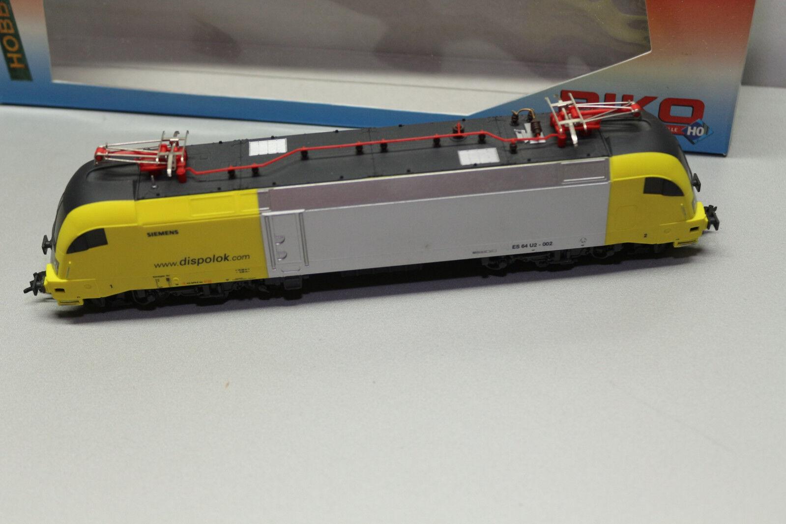 Piko 57411 57411 57411 DSS Elok Siemens Dispolok ES64 U2 Spur H0 OVP  M89    Smart  9dabd3