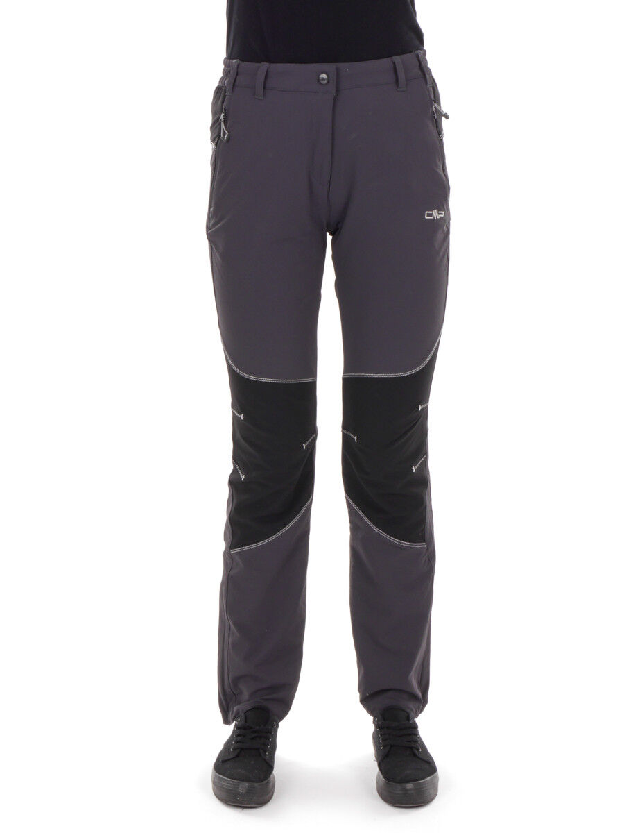 CMP multiPantaloni sportivi Pantaloni funzione GRIGIO STRETCH alla prossoezione dai raggi UV triete
