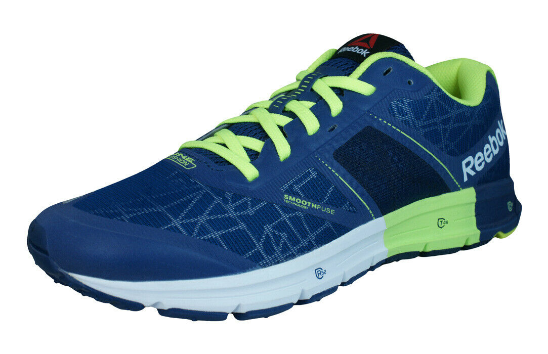 Reebok One Cushion 2.0 CityLite Mens Road Running Sneakers Treadmill shoes bluee