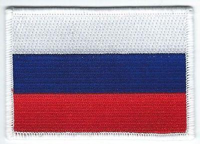 La Russie Drapeau Brodé iron-on patch Russe Emblème Vladimir Poutine Россия nouveau