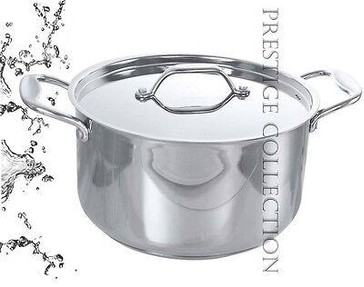 Candido Alta Qualità Prestige In Acciaio Inox Profondo Casserole Pan Stock Pot Stufato Cm 5.-mostra Il Titolo Originale