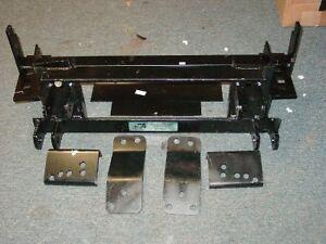 new 88 98 chevy gm 4x4 unimount western snow plow mount ebay. Black Bedroom Furniture Sets. Home Design Ideas