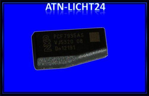 1x Schlüssel ID44 Transponder Wegfahrsperre Chip für BMW Mercedes Crypto 73 NEU