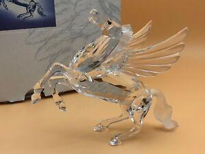 Swarovski-Figurine-Figure-de-L-039-Annee-Pegasus-12-5-Cm-avec-Ovp-amp-Zertifikat