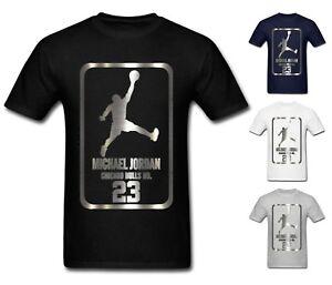 NEW-Mens-T-shirt-Michael-Air-Legend-23-Jordan-Men-shirt-Tops-Graphic-Tumblr