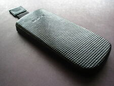 good quality nokia 8800 arte black carbon sapphire hard leather case