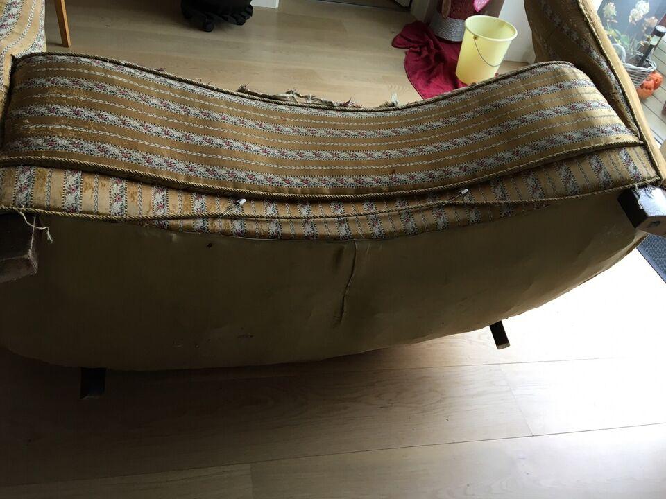 Sofa, stof, 2 pers.