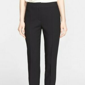 EUC-495-ESCADA-Tina-5019361-Black-Dress-Pants-Ankle-Trousers-Sz-34-US-Sz-4