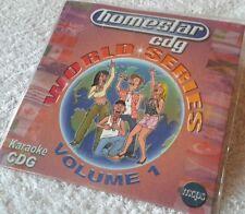 Karaoke CDG disc Homestar World Series HSW01, see Description 10 pop trks/arts