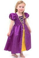 Purple Kids Girls Medieval Princess Dress - Maid Marian Costume - Lucy Locket