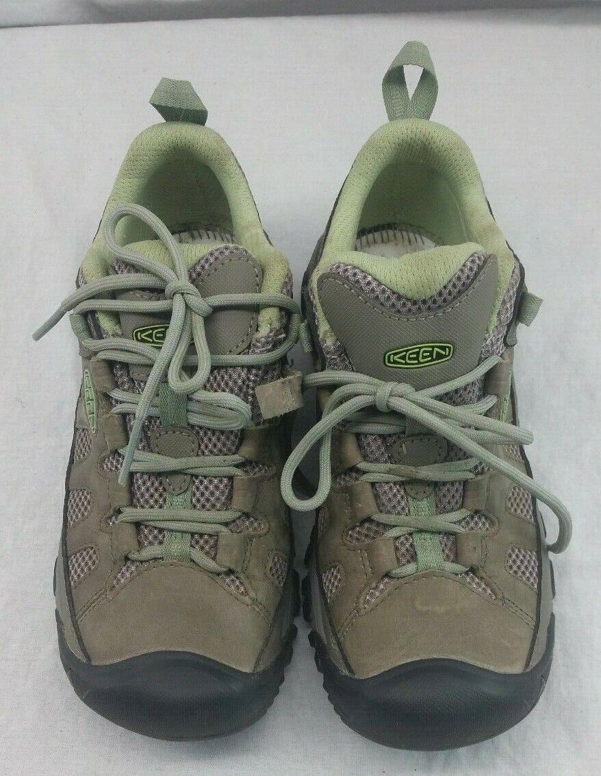 Keen 1018580 Mujer Zapato Targhee Targhee Targhee vent senderismo verde Talla 7.5  suministro directo de los fabricantes