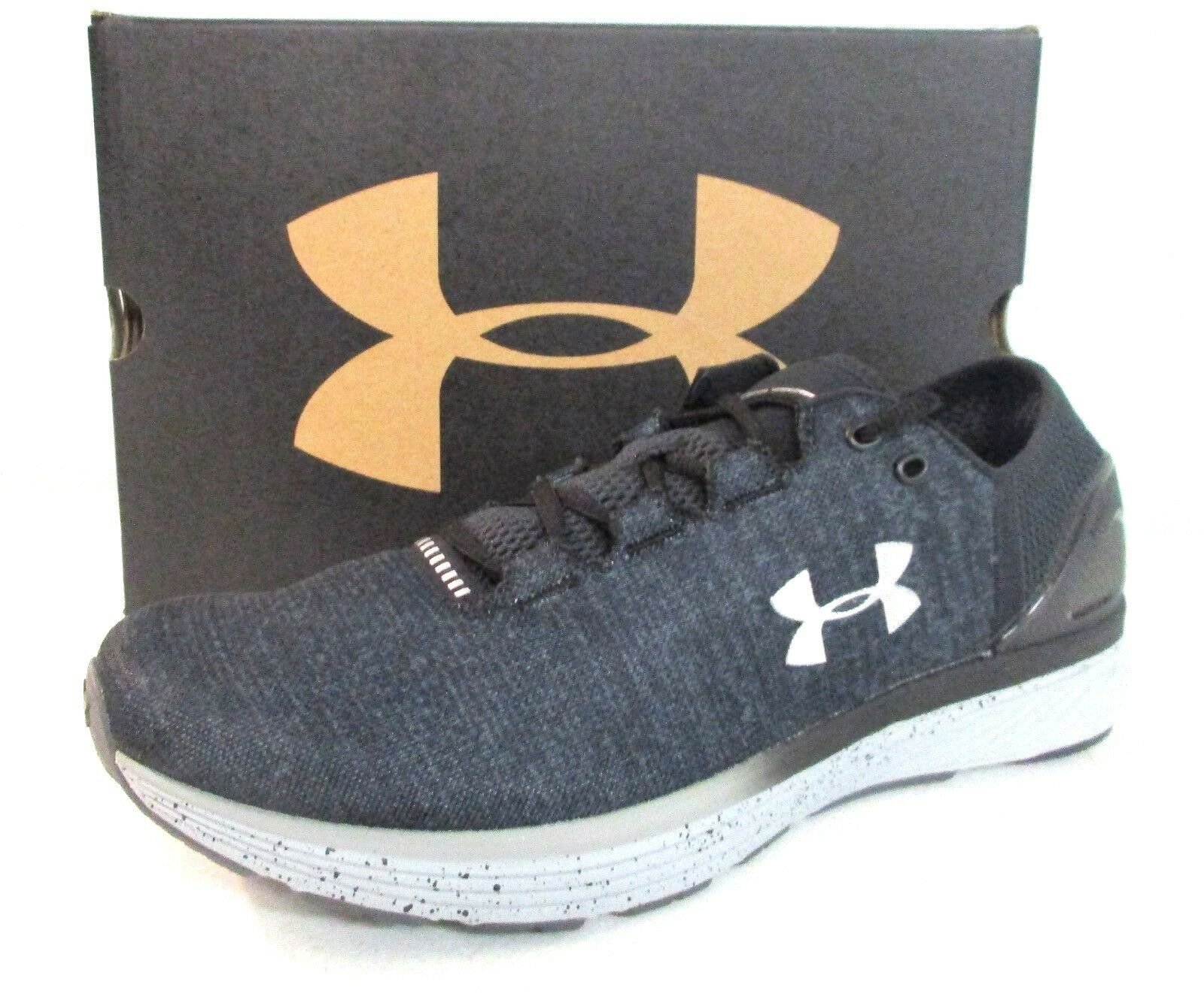 new style 17ae6 a189d Under Armour Men s Charged Bandit Bandit Bandit 3 Stealth Gray Black Size  11.5 - 1199
