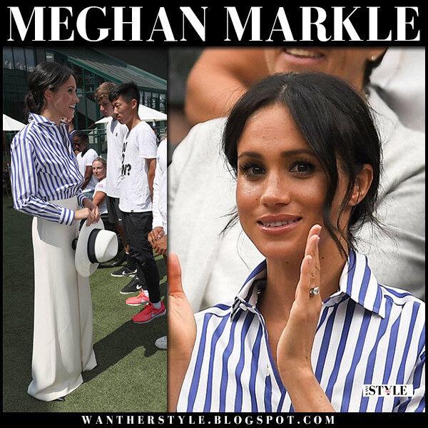 Ralph Lauren Collection Striped Cotton Shirt, US 6 UK10, ASO Royal Celebrity