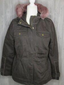 3c3308f33fd Ugg Convertible Field Jodie Women's Parka Olive Jacket W/Toscana ...
