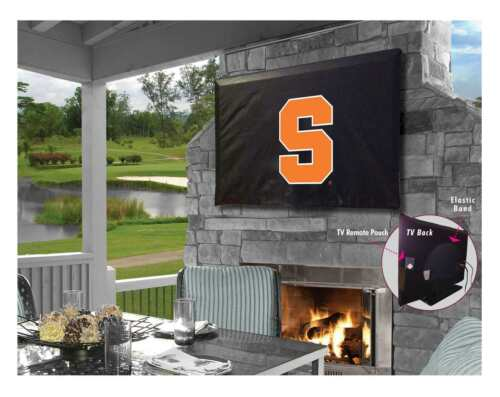 University of Syracuse Outdoor TV Cover w// Orange Logo
