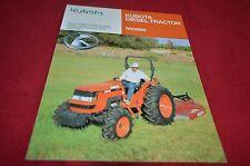 Kubota MX5000 Tractor Dealer's Brochure YABE12