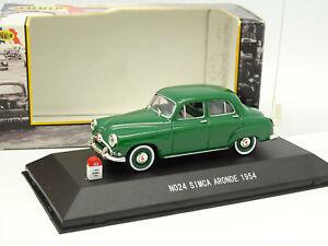 Nostalgie-1-43-Simca-Aronde-1954-Verte