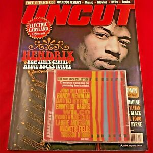 UNCUT-MAG-Mar-04-Jimi-Hendrix-Electric-Ladyland-James-Brown-Jack-Black-incl-CD