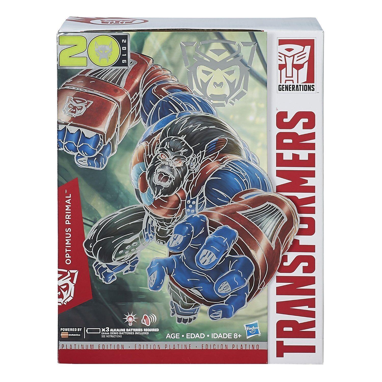 Hasbro Transformers Platinum Platinum Platinum Edition 2016 Year of the Monkey Optimus Primal MISB 589f55